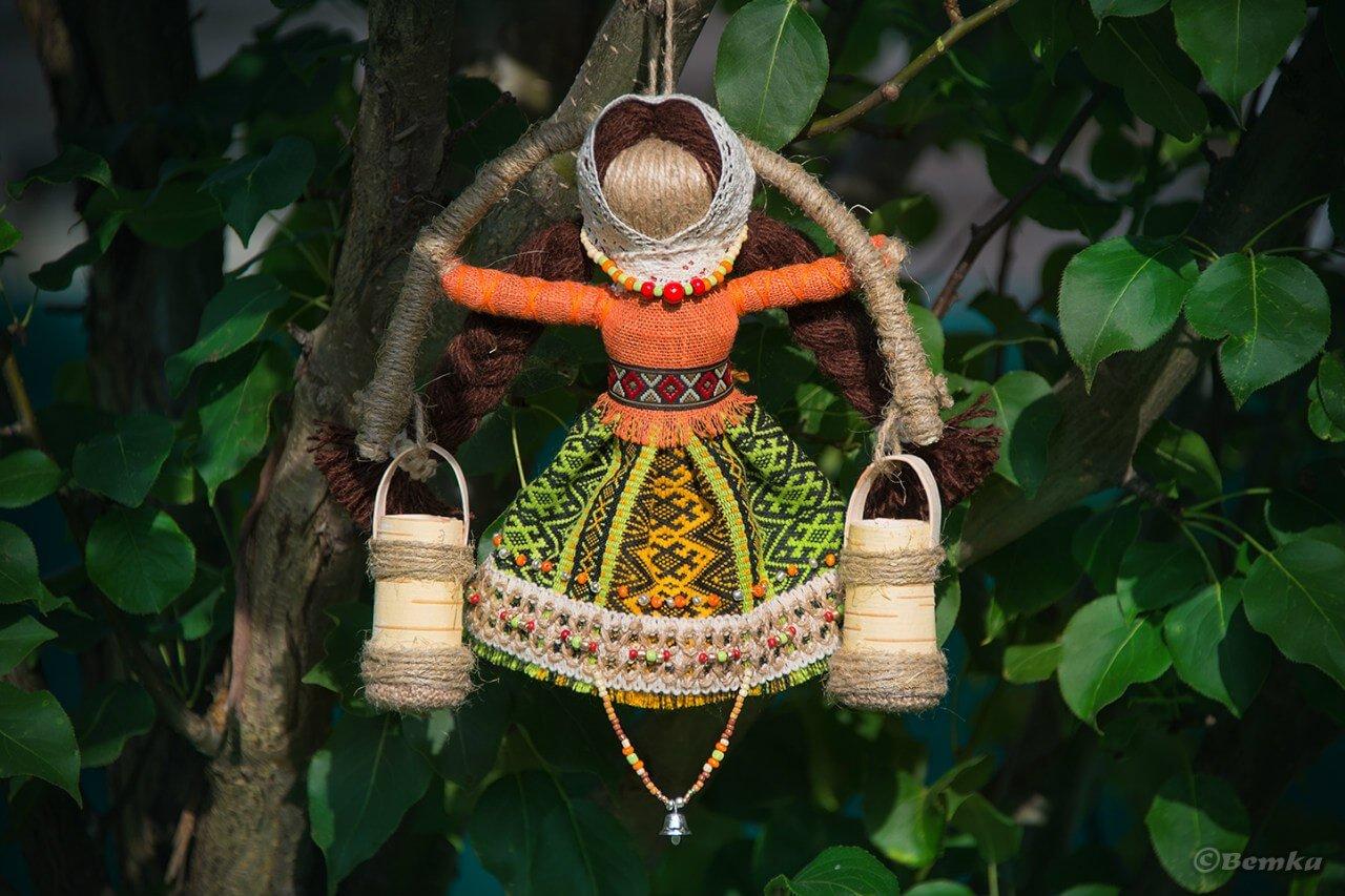Веткины Куклы-Обереги приносят благополучие, здоровье и радость: богатушка, Неразлучники, Путешественница, Спиридон-Солнцеворот,