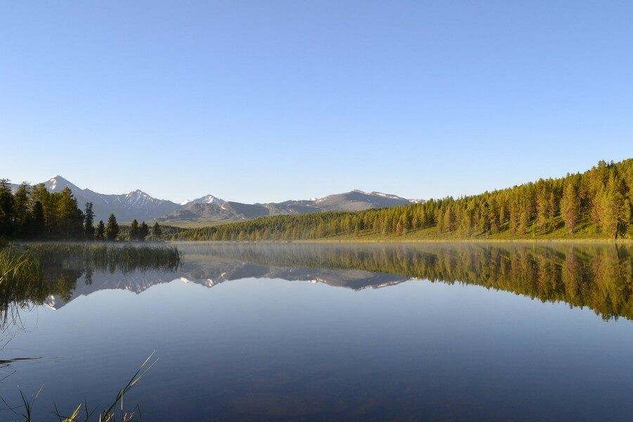 Озеро Киделю в Горном Алтае